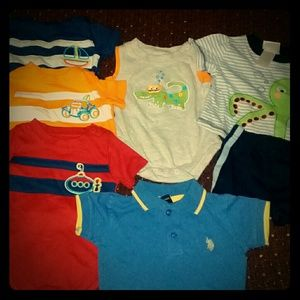 7 pieces all size 0-3 mos.